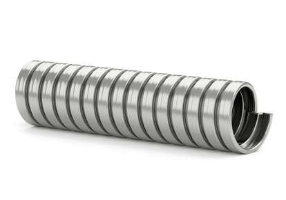 Exhaust hose stainless steel 22 MM